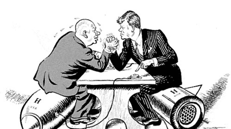 Chruszczow vs Kennedy